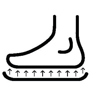 Einlage-Fuß-Polsterung