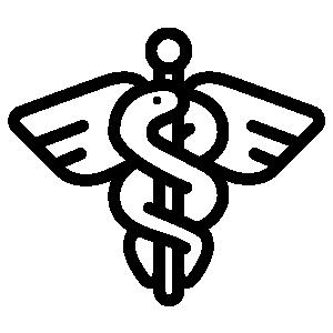 Grafik-Äskulapstab-Aeskulapstab-Schlange