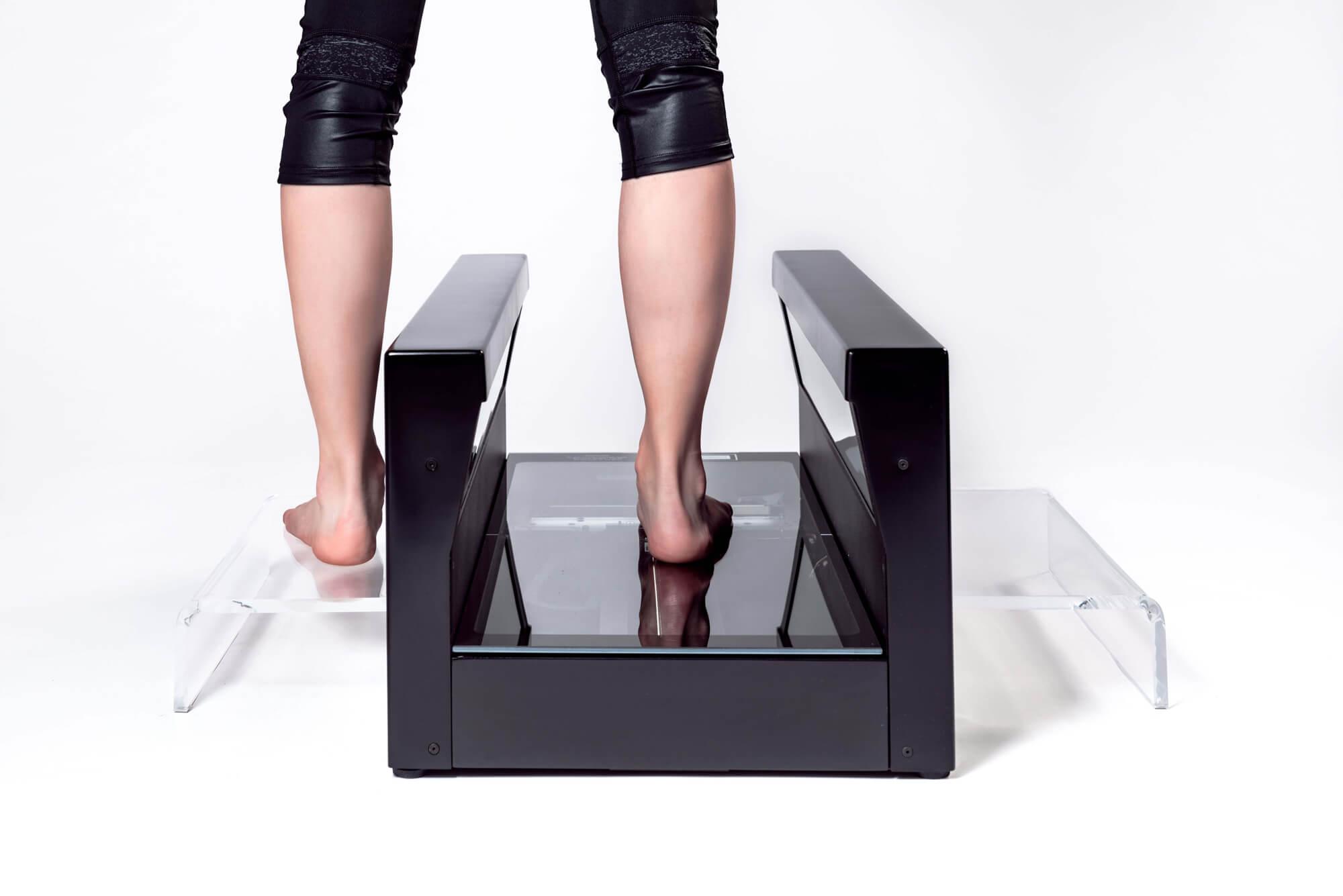 Fußscan für eine Maßschuh-Versorgung