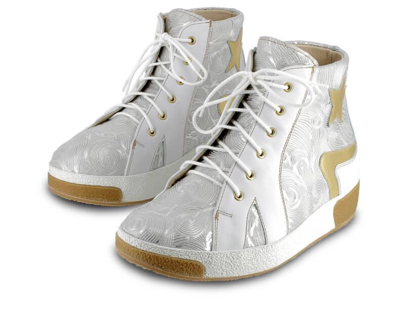 Orthopädischer-Maßschuh-Damen-Sneaker-Hoch
