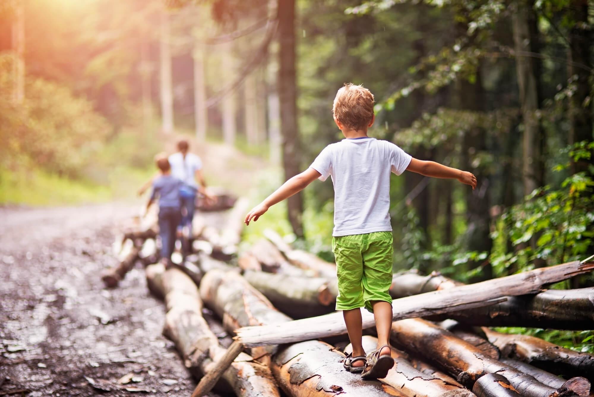 Orthopädische Einlagen bei Kindern