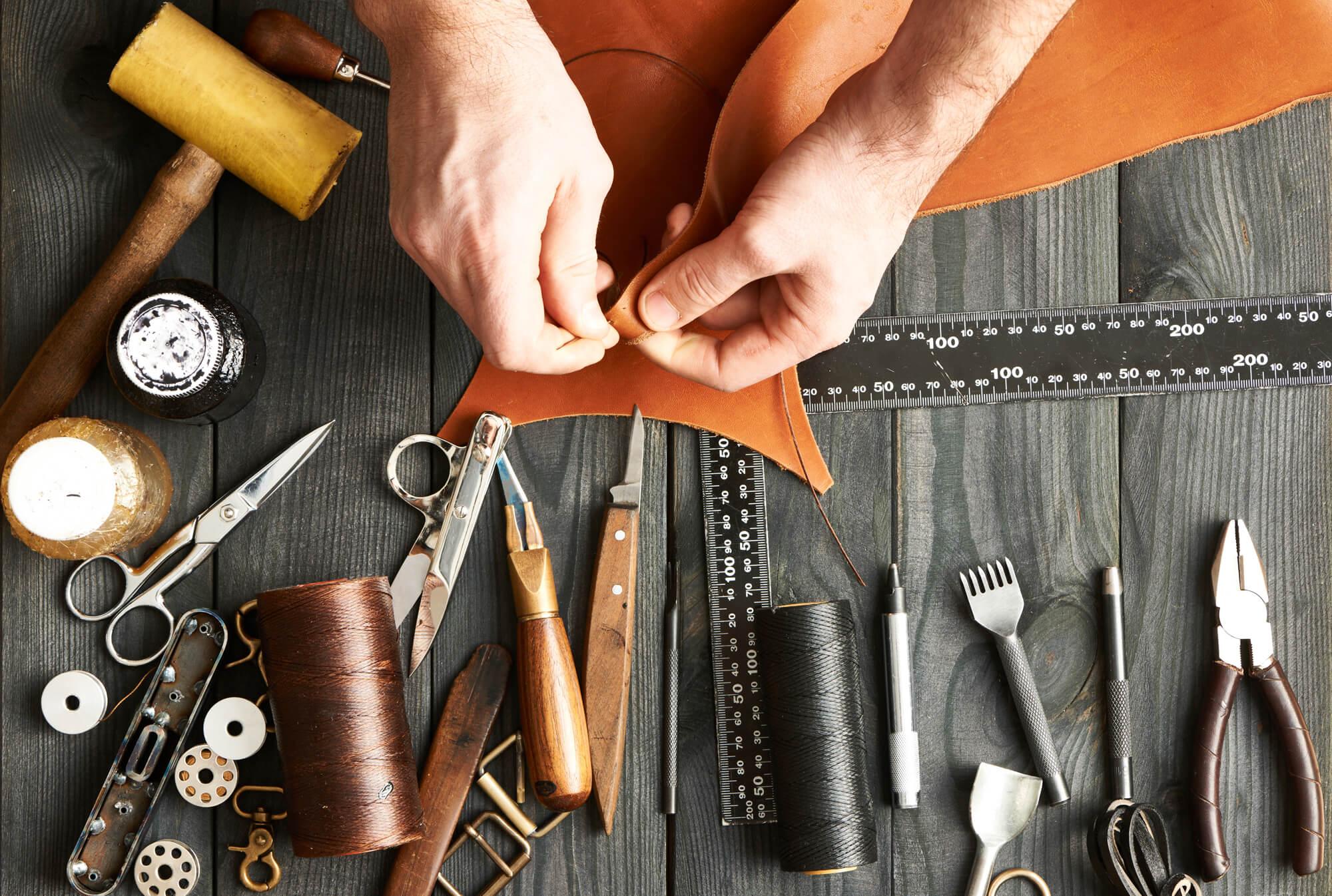 Werkzeug-Reparatur-Schuh-Handwerk
